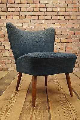 50s Retro COCKTAIL CHAIR ARMCHAIR DANISH FAUTEUIL Mid Century VINTAGE STILNOVO 6