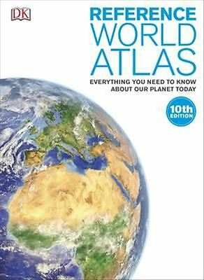 Reference World Atlas by Kindersley Dorling - Hardcover - NEW - Book