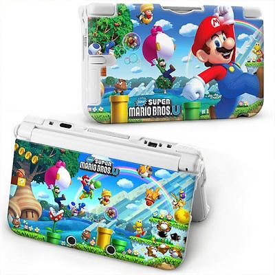 Super Mario Bros Hard Case Protective Cover For NEW NINTENDO 3DS ONLY