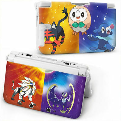 POKEMON SUN & MOON Hard Plastic Case Protective Cover For NEW NINTENDO 3DS