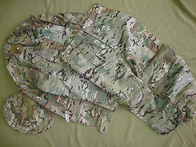 Multicam sniper suit Crye Precision Ghillie Coat Army sord tbas ubacs dpdu sasr