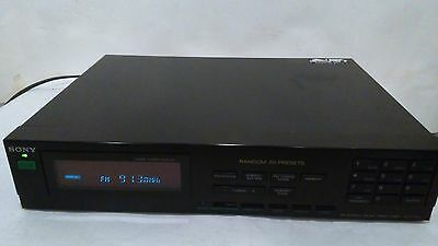 Sony FM/AM Stereo Tuner ST-V710L
