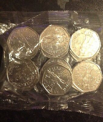 Uncirculated full sealed bag of battle of Hastings 2016 50p coins