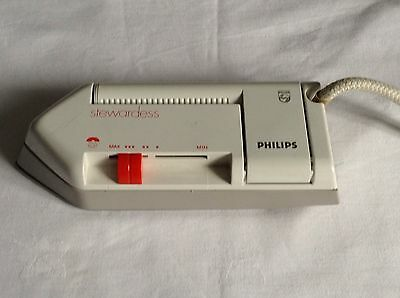 Philips Stewardess Travel Iron Dual Voltage And Bag