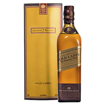Johnnie Walker Gold Centenary 200mL - Very Rare Travel Retail Size!!!