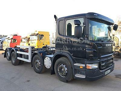 Scania P340 8X2 Chassis Cab Rear Lift And Steer Truck/lorry
