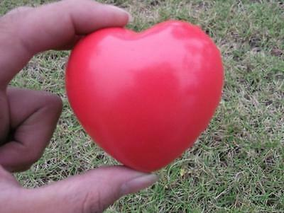 Heart Shaped Exercise Stress  Relief Squeeze Elastic Rubber Soft Foam Ball