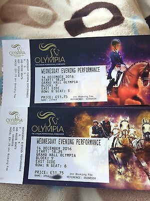 2 Olympia Tickets Wednesday Night Valegro Sold Out Show!