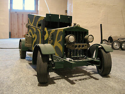 Prototype Sizaire Berwick 1915 Vintage Scale Model 1/10 Rc Custom Collector