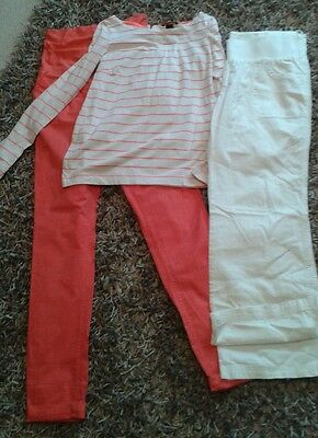 Maternity Bundle Size 12/10 H&M  Trousers Tops