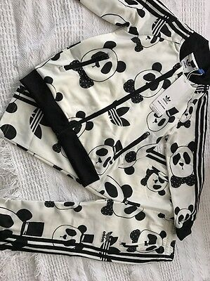 ADIDAS X MINI RODINI PANDA 3 Stripe Jogger Infant Toddler Tracksuit Age 3T