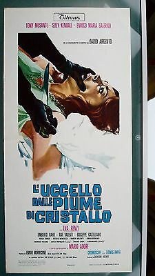 Dario Argento's THE BIRD WITH CRYSTAL PLUMAGE authentic 1969 Poster