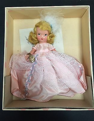 "VINTAGE NANCY ANN STORYBOOK ""BEAUTY"" AND THE BEAST DOLL #156 w/ BOX & ARM TAG"