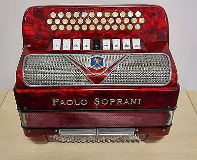 Paolo Soprani Blue Badge B/C/C#