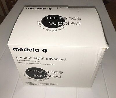 NEW Medela Pump In Style Advanced Double Breast Pump Starter Set