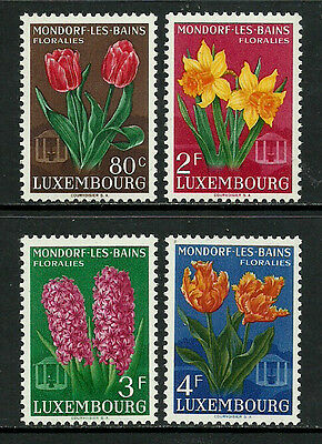 Luxembourg #300-3 Mint Never Hinged Set - Flowers