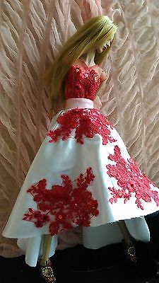 """Redz-Outfit For Sybarite Demuse Fashion Royalty  16"""" Ficon Modsdoll Tonner Dolls"""