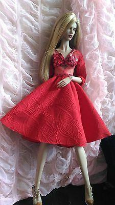 """Red Mary - Outfit For Demuse Ficon Kingdom Sybarite Fr 16"""" Modsdoll Ag Dolls"""