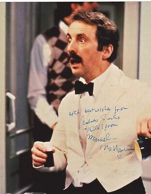 Signed Andrew Sachs 'fawlty Towers '  8X10 Autographed Photo Coa