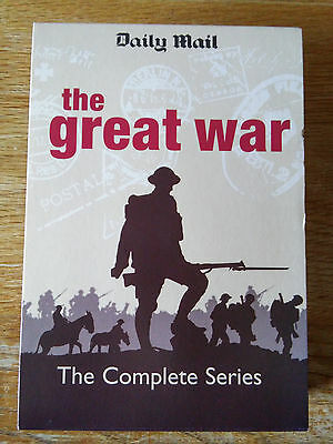 The Great War - Daily Mail- Complete Set of DVD's