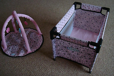Used  Graco  Dolls  Cot  And  Mobile