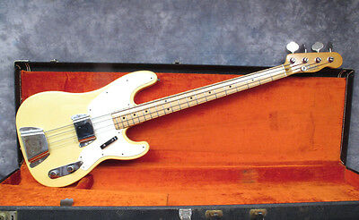 1969 Fender Telecaster Bass - Blonde - Excellent Condition - Andy Baxter Bass