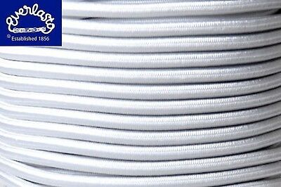 3Mm X 5M Hank White Tent Pole Camping Replacement Elastic Bungee Rope Shock Cord