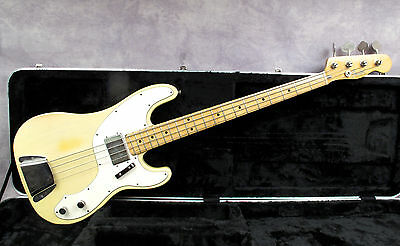 1972 Fender Telecaster Bass - Blonde - Andy Baxter Bass