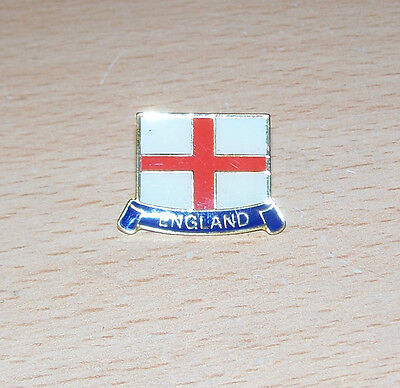 England St George Cross Pin Badge  20mm x 18mm