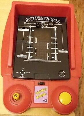 Super Kong retro battery operated video game