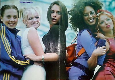 Spice Girls Geri Halliwell poster articles / clippings
