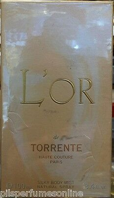 L`Or de Torrente Torrente for women SILK BODY MIST 100 ml NATURAL SPRAY
