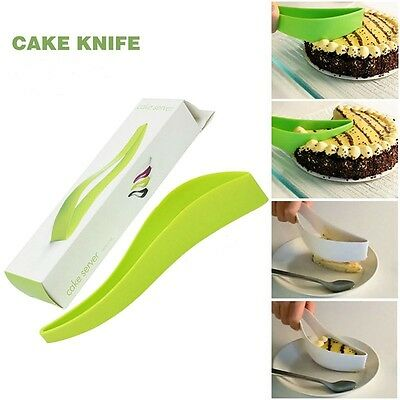 Cake Pie Slicer Sheets Guide Cutter Server Bread Slice Knife Kitchen Tool Gadget