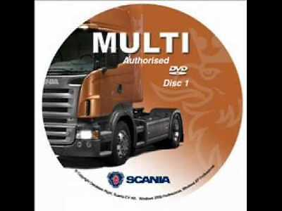 Scania Multi 1603 Epc Electronic Parts Catalogue Workshop Dvd Manual