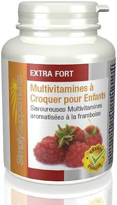 Multivitamines à croquer pour enfants - 360 comprimés - Simply Supplements