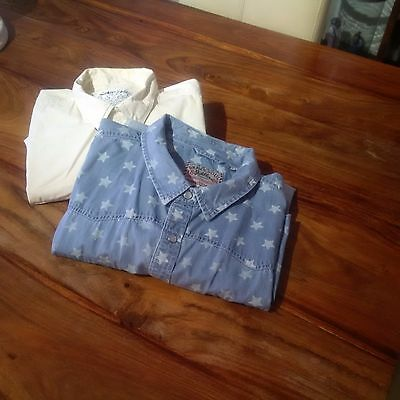 A Bundle Of Two Men's Quality Casual Shirts