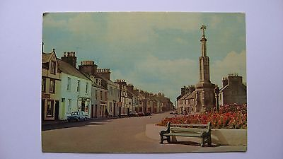 Old vintage Postcard AC1000 WIGTOWN posted 7 August 1969 Scotland