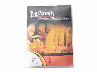 Worth C8 8 String Tenor Strings Double