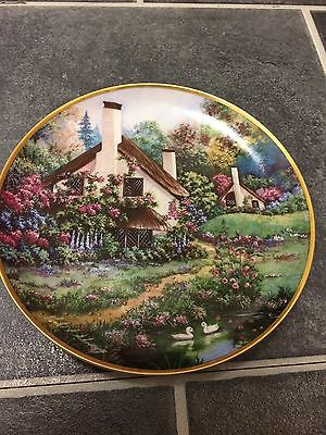 Limited Edition Franklin Mint Heirloom Recommendation Plate