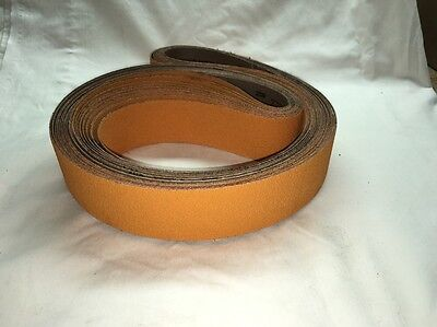 "2""x72"" Sanding Belts 36 Grit NEW Premium Yellow Ceramic (5pcs)"