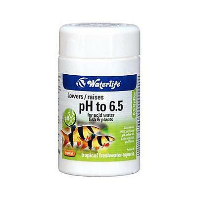Waterlife 6.5 pH Buffer Raises / Lowers pH Levels - Tropical Aquarium Fish Tank
