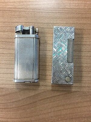 Alfred Dunhill Silver Lighter