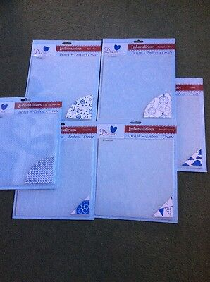 Craft Clearout- Large Embossing Folder Set