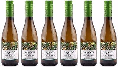Moscato d'Asti DOCG by Paolo Saracco (Case of 6 - Italian Sweet White Wine)