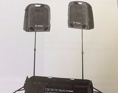 Peavey Professional Speaker System and Shure Mike