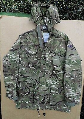 Genuine British Army Issue -Mtp Windproof Combat Smock -Size 180/104