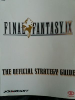 Final Fantasy IX: Official Strategy Guide by Piggyback (Paperback, 2001)
