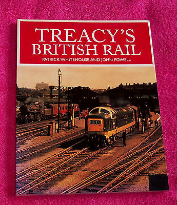 Book – Treacy's British Rail – 192 pages - details and B&W pictures – 2002