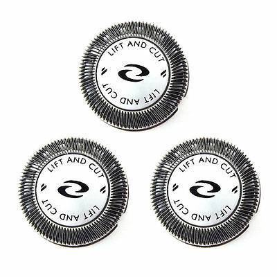 3x Rasoir Embouts Lame+DOUBLE Coupe-ongles pour Philips Norelco HQ56 HQ55 HQ4+