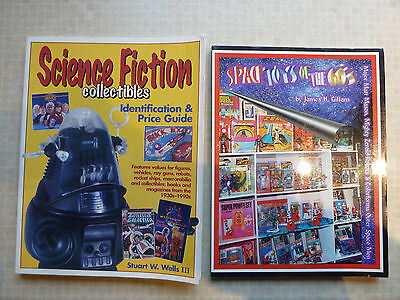 science fiction collectibles & space toys of the 60's guide books